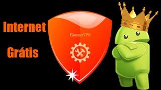Tutorial de Internet grátis para android Hammer VPN.