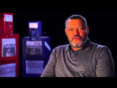 Laurence Fishburne (Plays Perry White in Man of Steel)