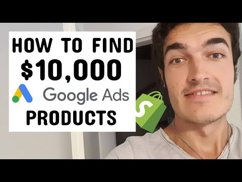 How To Find $10,000 Google Shopping Dropshipping Products [Step-by-Step] thumbnail