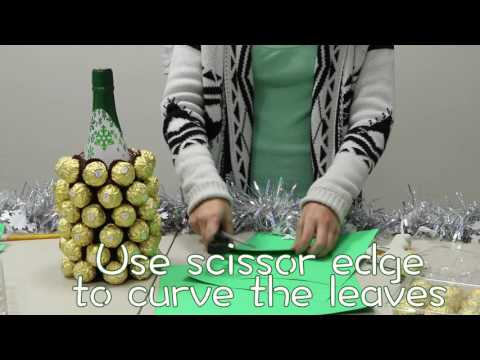 DIY Holiday Gifts: Ferrero Rocher Pineapple