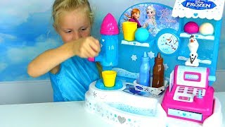 glace disney reine des neiges alicia ouvre son magasin