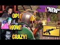 """Streamers First Time Using *NEW* """"AK47"""" Heavy Assault Rifle! 