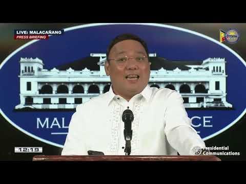 Press Briefing by Presidential Spokesperson Harry Roque, Jr. 6/15/2020