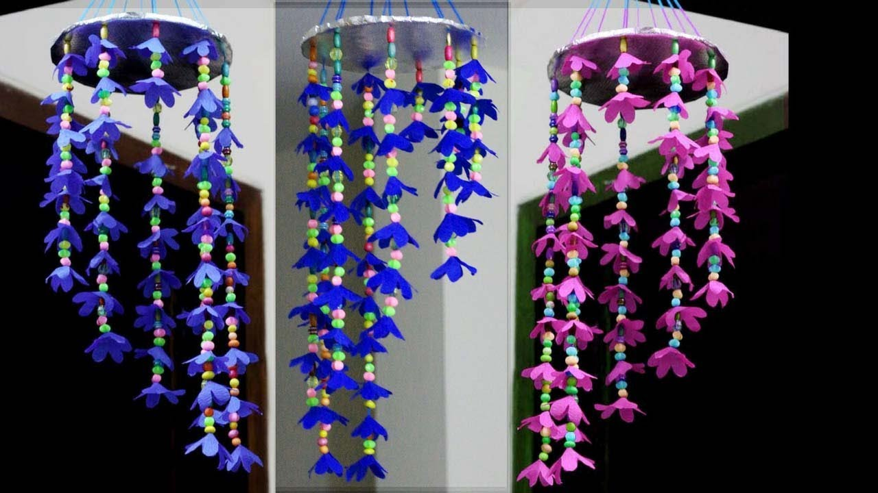 wall hangings craft ideas how to make wind chimes out of paper make easy paper 5695