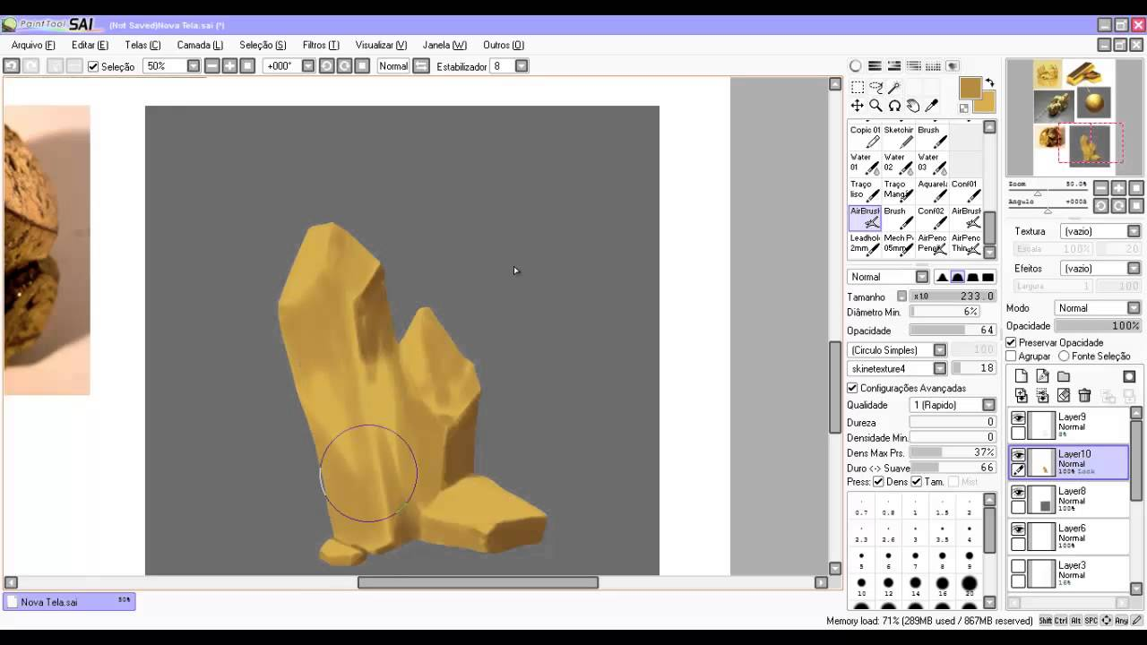 how to get current paint tool sai