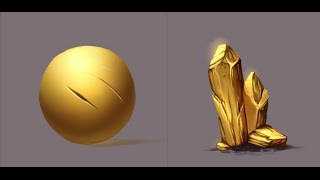 Materials - Gold - Paint tool Sai