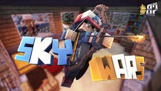 12 KILLS SOLO! • Minecraft Skywars #07 | Fazon