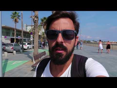 Último dia em Barcelona, praia e despedidas | Daily 12