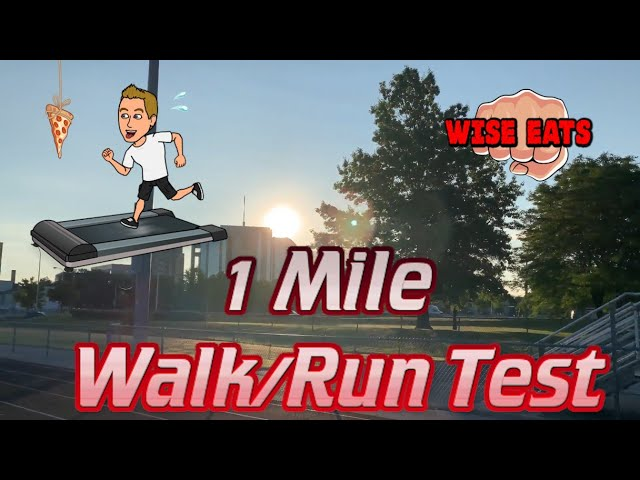 1 Mile Walk or Run Test  - Fitness Assessment for Cardiorespiratory Fitness CRF (WesFitness.com)