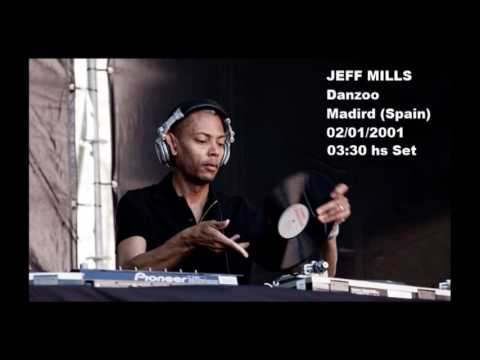 Jeff Mills - Danzoo Madrid (Spain). 03:30 hs Set