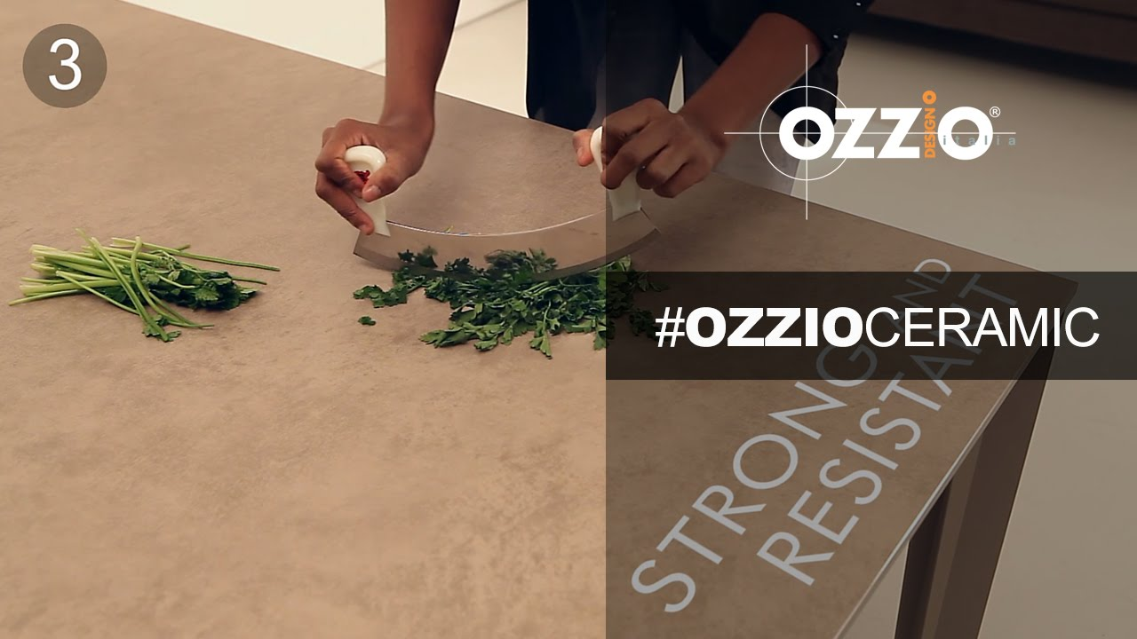 Ceramic tables by Ozzio | Tavoli in ceramica - 8 reasons why it's a great furniture finish