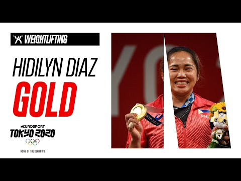 Hidilyn Diaz Wins Gold For Philippines | WEIGHTLIFTING - Highlights | Olympic Games - Tokyo 2020