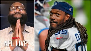Jadeveon Clowney signing with Browns brings a tear to Marcus Spears' eye | NFL Live