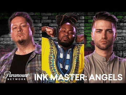 Golden Gate Angels: Elimination Tattoo - Sneak Peek   Ink Master: Angels (Season 1)