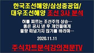 한국조선해양, 삼성중공업, 대우조선해양 조선 3사 분석…