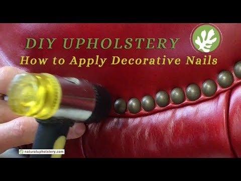 applying-decorative-nails-to-your-upholstery-project