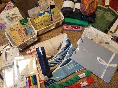 Покупки из Японии/вязание/вышивка