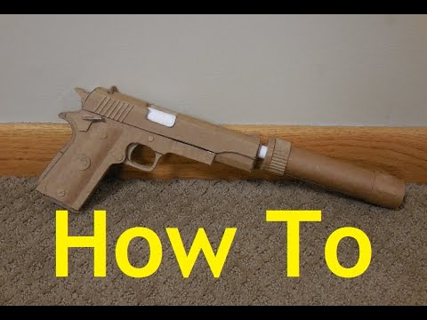 Thumbnail: How to make my Cardboard M1911A1