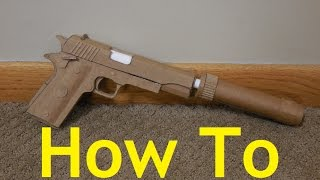 How to make my Cardboard M1911A1