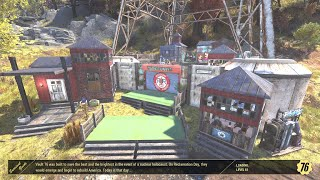 Fallout 76 CAMP: Community Square