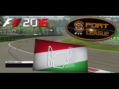 Sport League F1 2016 #11 GP Hungary Hungaroring 23.01.17 - Live Streaming 1080p