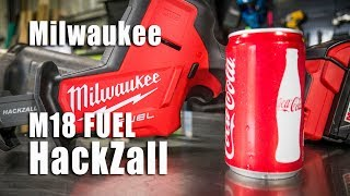 Milwaukee M18 FUEL Hackzall Video Review 2719-20