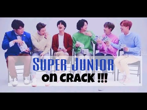 Super Junior On CRACK !! ͡° ͜ʖ ͡°