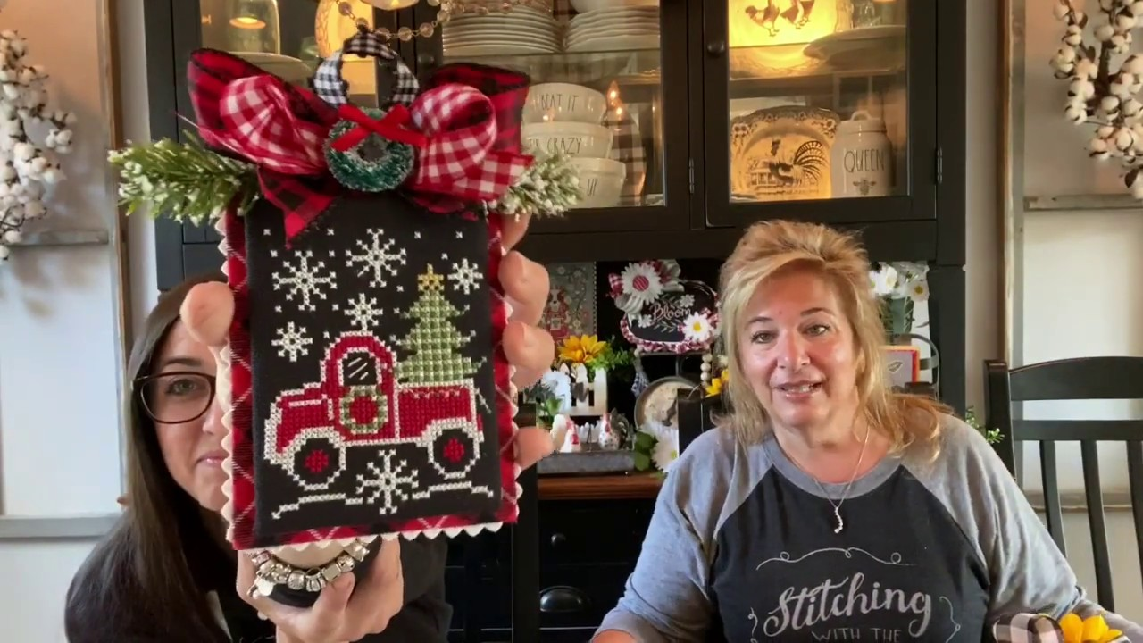 Flosstube #155:Priscilla & Chelsea-The Real Housewives of Cross Stitch