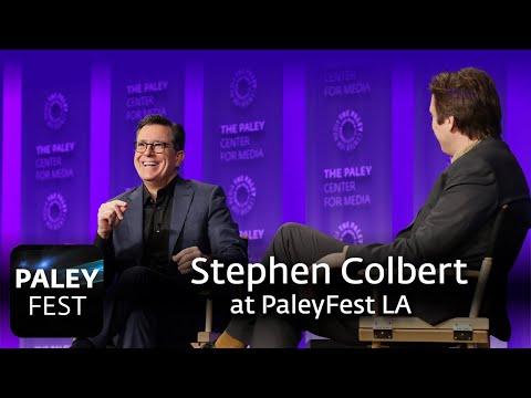 An Evening with Stephen Colbert at PaleyFest LAKaynak: YouTube · Süre: 1 saat3 dakika2 saniye