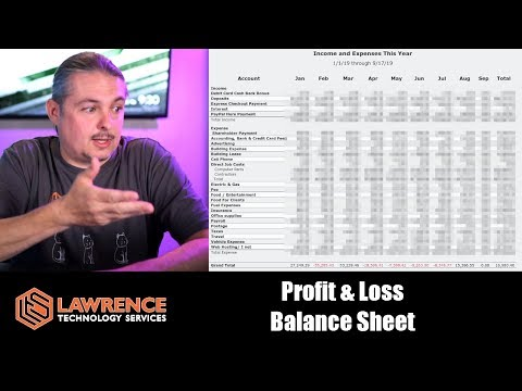 Two Financial Statements Small Business Owners Should Know: Profit & Loss And Balance Sheet