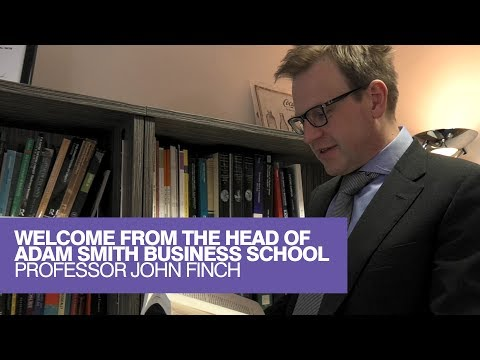 Welcome from Professor John Finch, Head of School