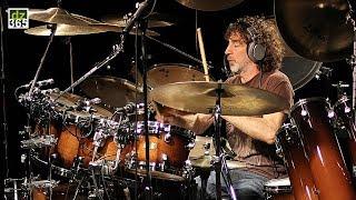 Simon Phillips plays his Warm-up Drum Exercises - Part I