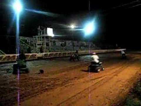 Sumter speedway lawnmowers racers