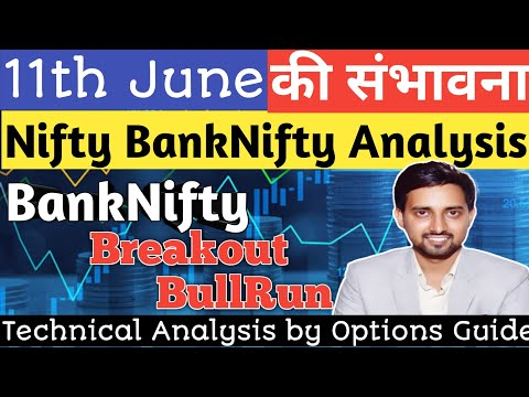 11th June Nifty U0026 Bank Nifty Live Analysis | Nifty Tomorrow Options Guide