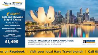 Hays Travel Exclusive Bali and Beyond Stay & Cruise