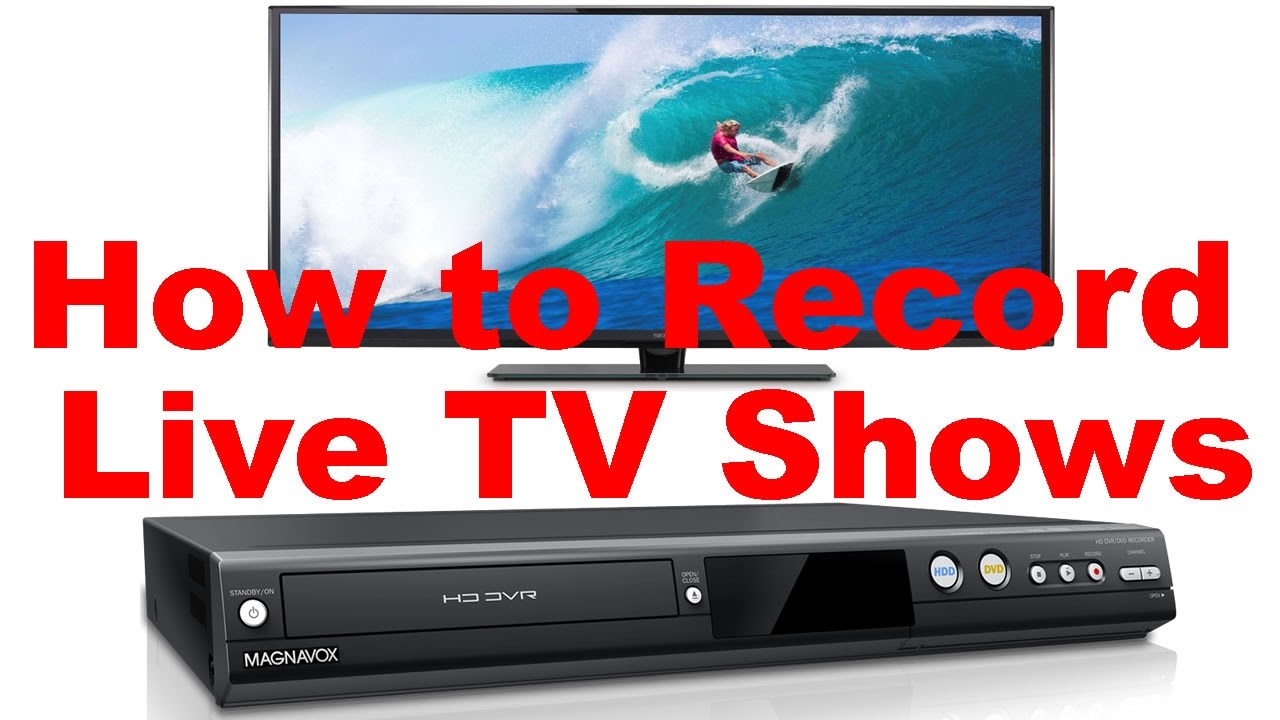 How to record dvd
