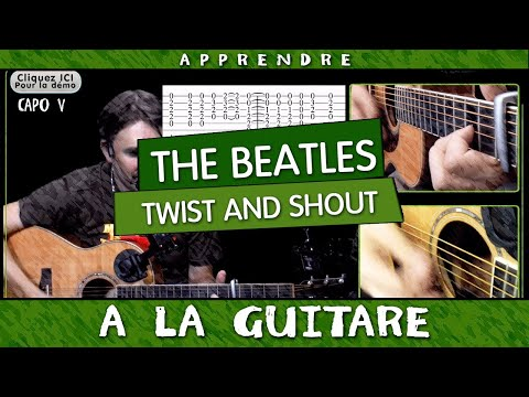 The Beatles - Twist and Shout - TUTO Guitare facile