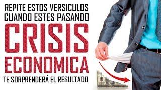 Repite este versículo cuando pases crisis económicas y TE SORPRENDERAS! - Reflexiones Cristianas