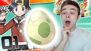 AND OUR STARTER POKEMON IS?! Pokémon Sacred Gold Egglocke Part 1