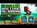 No Man's Sky NEXT | Third Weekly Event Full Rundown &  Bonus Quicksilver Reward!