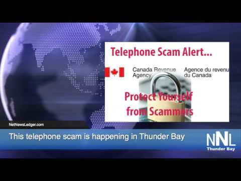 Telephone Scam -Canada Revenue Agency