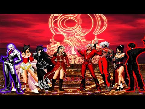 Kof Mugen The Gog Ssjg VS The Choppers Team