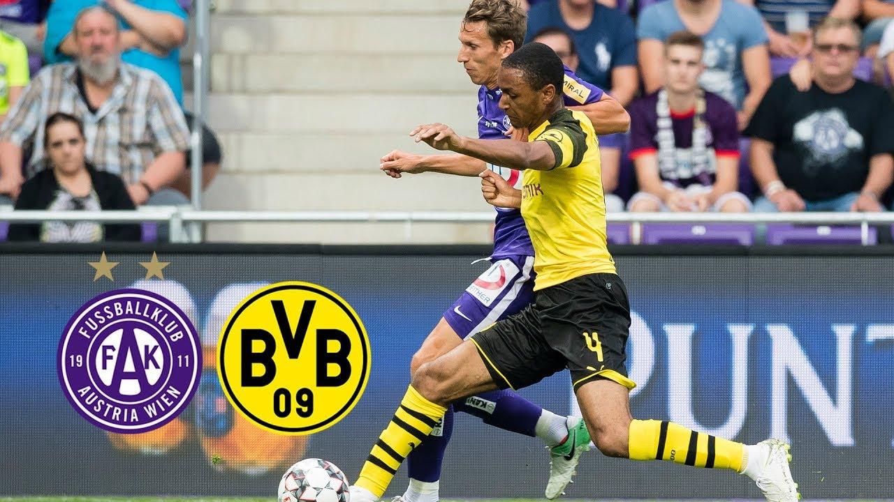 Austria Wien - BVB (0:1)   Alle Highlights  Wer schießt das erste Tor der Saison?
