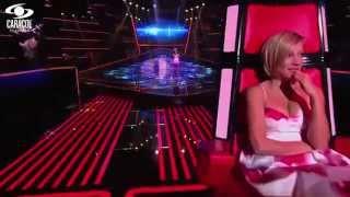 Isabella cantó 'No me queda más' de Selena - LVK Colombia- Audiciones a ciegas - T1
