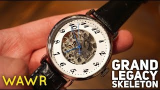 Thomas Earnshaw Grand Legacy Skeleton Watch Review ES 8810-02 - Seiko NH35