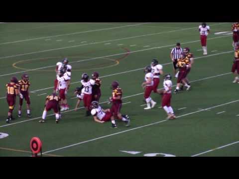 Cesar Garcia #34 2016-17 JV Football Highlights Salpointe Catholic High School