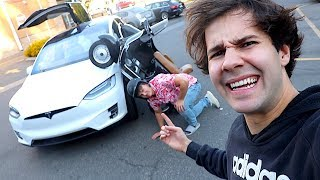 MY FIRST CAR ACCIDENT CAUGHT ON CAMERA!!