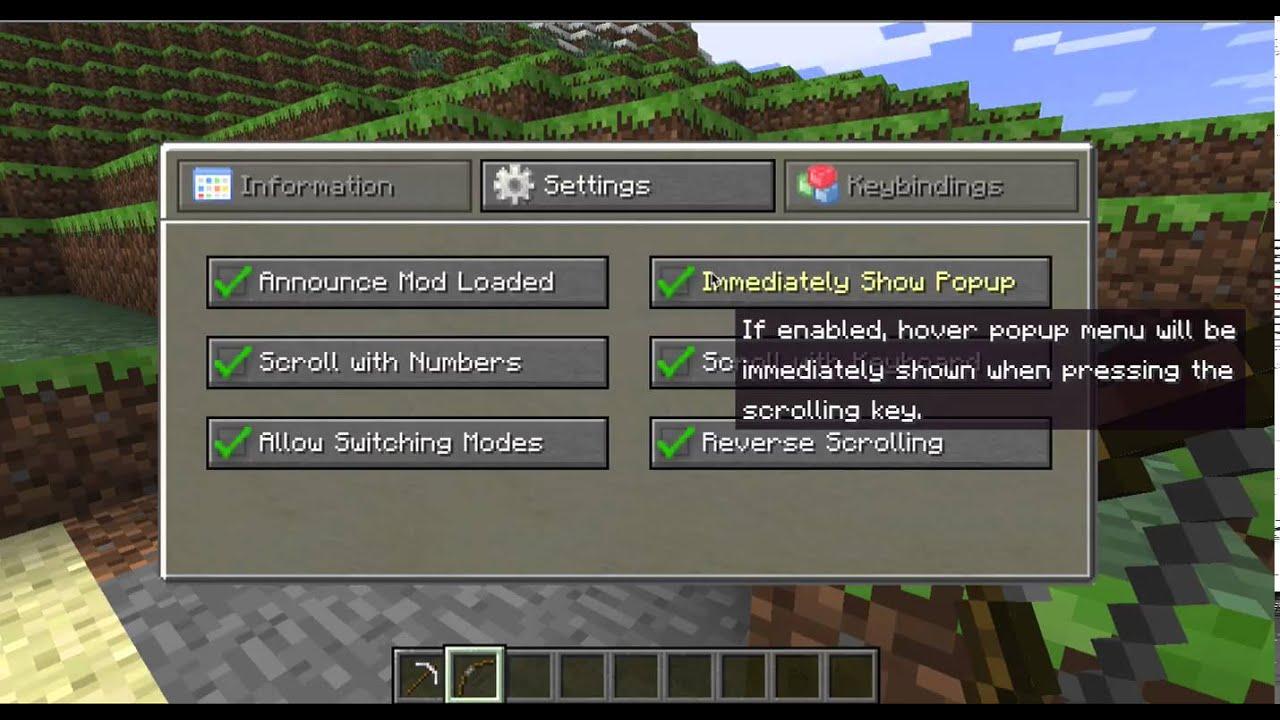 Quick Hotbar - Mods - Minecraft - CurseForge