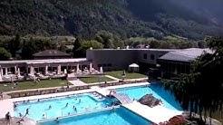Webcam video Brigerbad Swimming pool Switzerland Valais - Schweiz