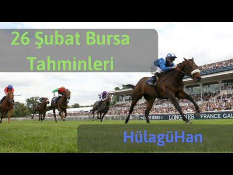 26 Şubat Bursa Altılı At Yarışı Tahminleri Ve Altılı Için Bankoları - TJK